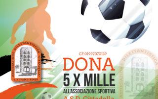 Dona il 5xmille all'associazione sportiva ASD Cittadella