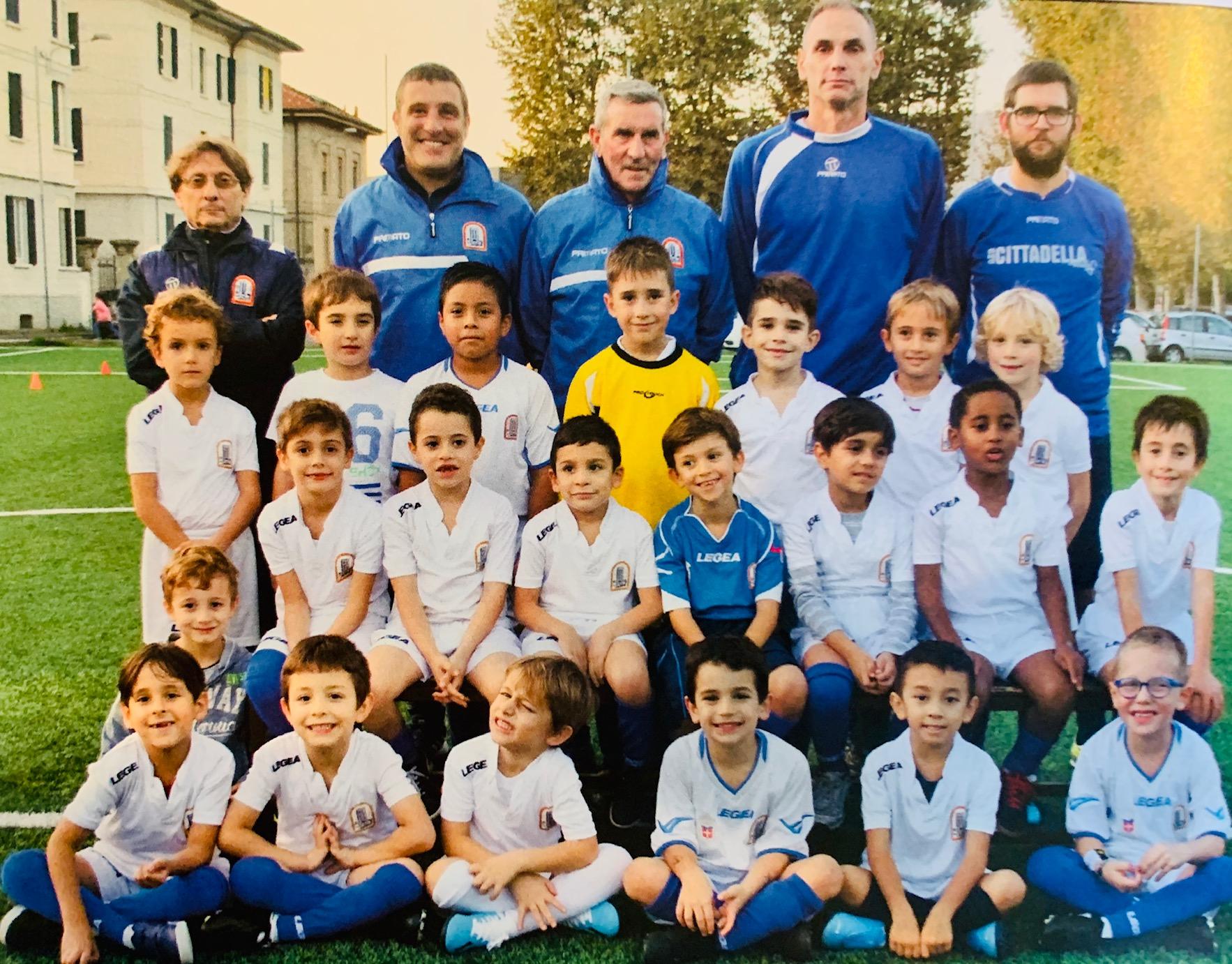 scuola calcio Citatdella